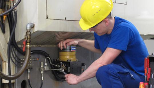 Tecin Mineria Servicios Instalacion de Sistemas de Lubricacion interna yacimientos mineros
