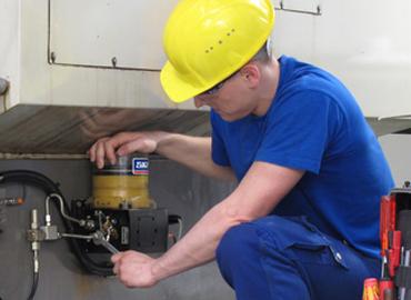 Tecin Mineria Servicios Instalacion de Sistemas de Lubricacion interna Lincoln yacimientos mineros