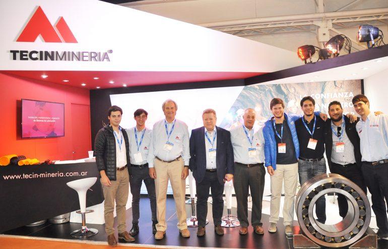 Expo Arminera equipo Tecin Mineria aog2019